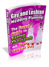 gay and lesbian wedding planning ebook