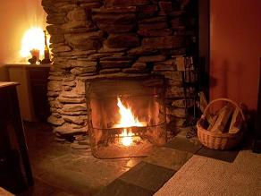 wood burning fireplace vermont